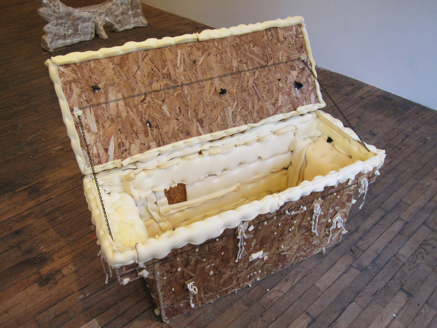 """Jessi Reaves, """"Trunk Bed Box (Weather)"""" (2016)"""