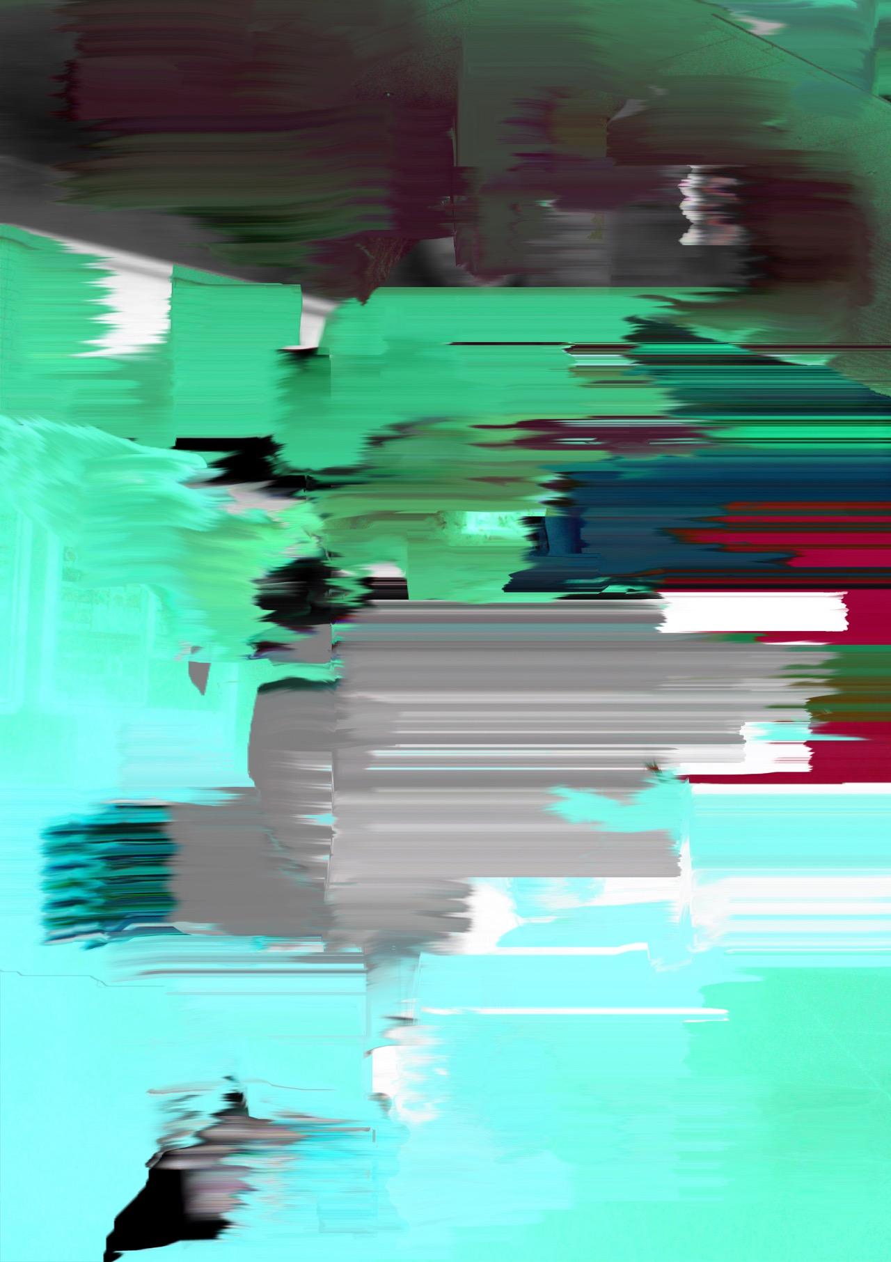 "Kenta Cobayashi, ""Green Mist #Smudge"" (2015)"