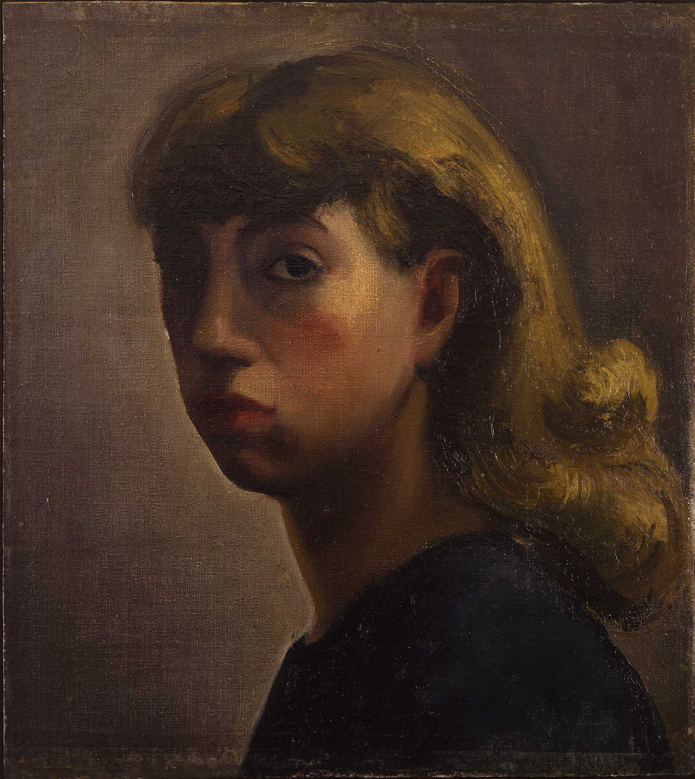 Lee krasner self portrait c 1931 33 oil on linen 18 x 16