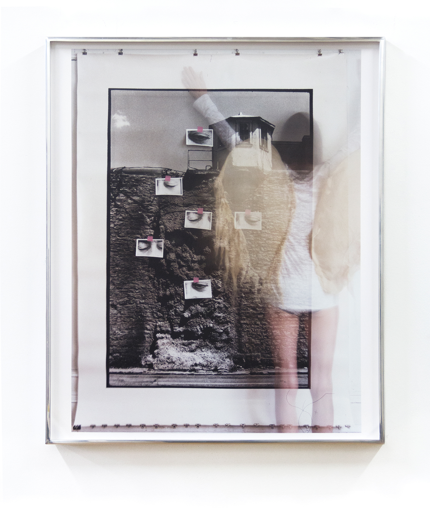 """Moyra Davey, """"Oozing Wall (Wings)"""" (2014), C-print, 24 x 20 inches (click to enlarge)"""