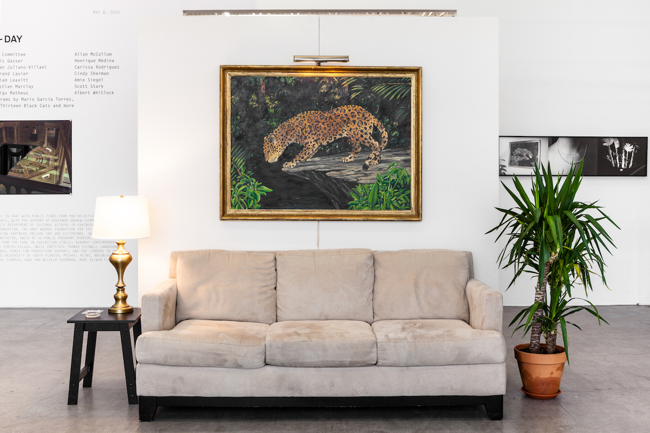 """William Leavitt, """"Set for 'The Tropics' with Jaguar (from 'The Tropics')"""" (1974)"""