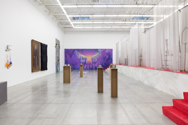 Installation view of 'FADE IN: INT. ART GALLERY – DAY' at the Swiss Institute (click to enlarge)
