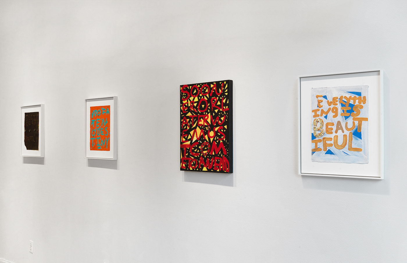 Installation view of Samuel Jablon's 'Life is Fine' at Arts + Leisure