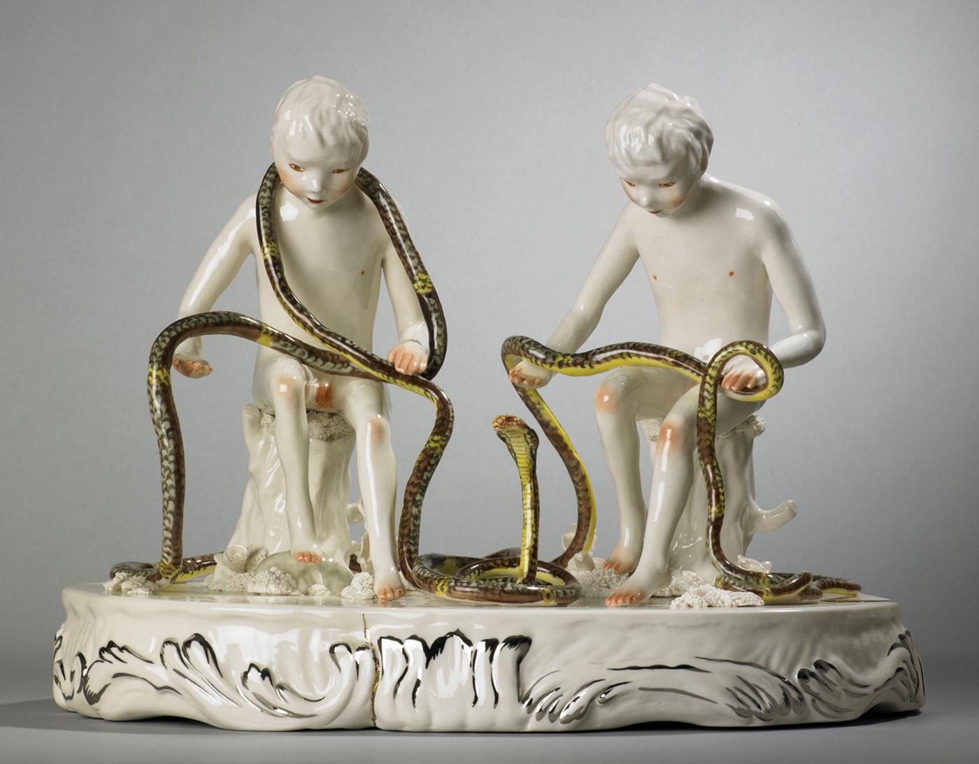 "Shary Boyle, ""King Cobra"" (2010) (Collection Antoine de Galbert, Paris)"