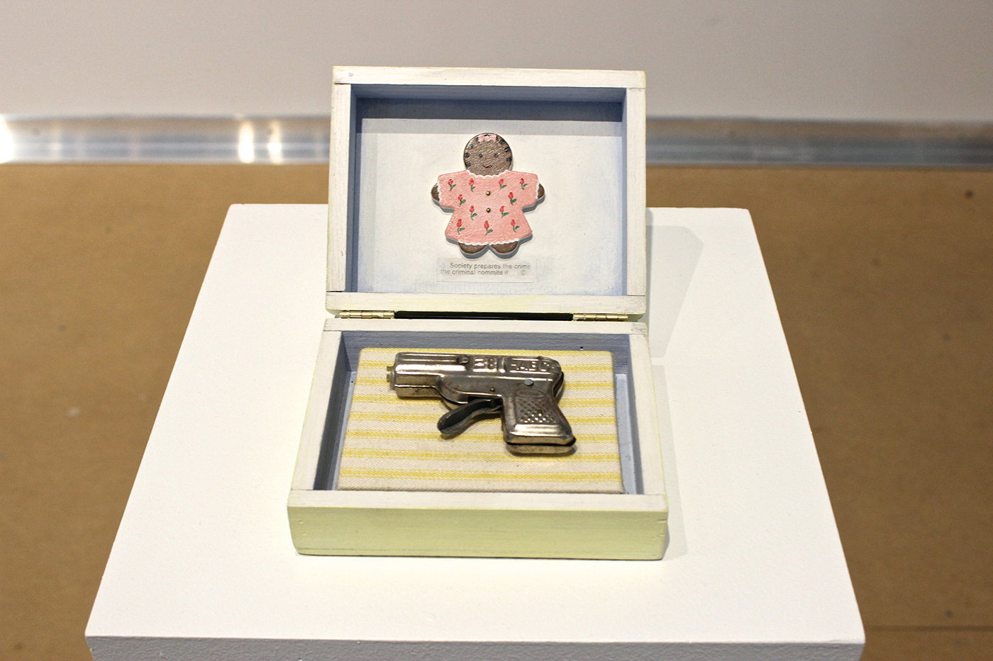 Baby's First Gun (1998) by Renee Stout