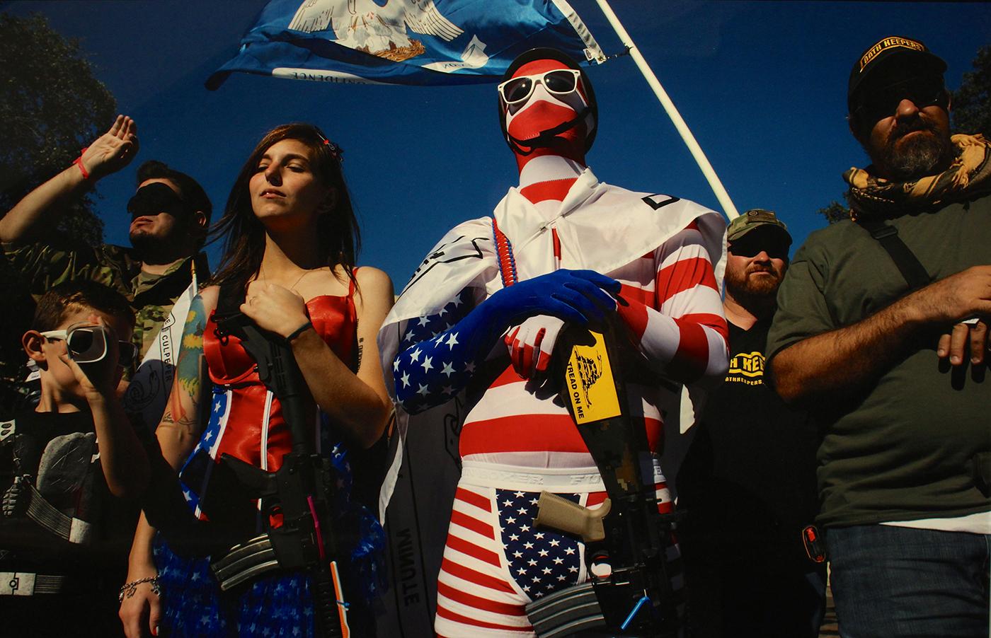 """""""Come And Take It"""" Rally, The Alamo, San Antonio, Texas, USA (2013) by Nina Berman"""