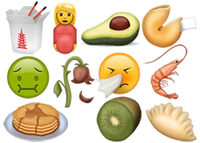 Some of the new emoji that might be heading to our screens soon enough. (via )