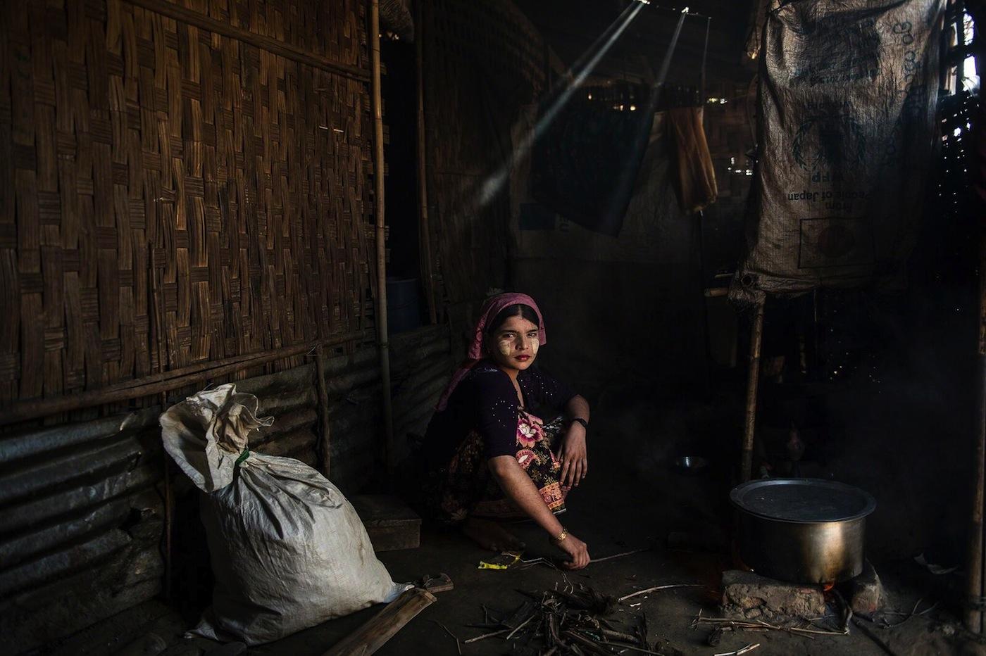 """Lynsey Addario, """"Say Tha Mar Gyi, Myanmar"""" (2015) ("""