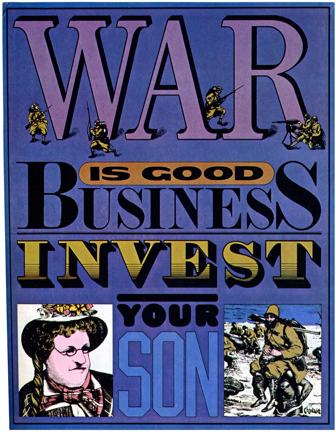 Seymour Chwast on War