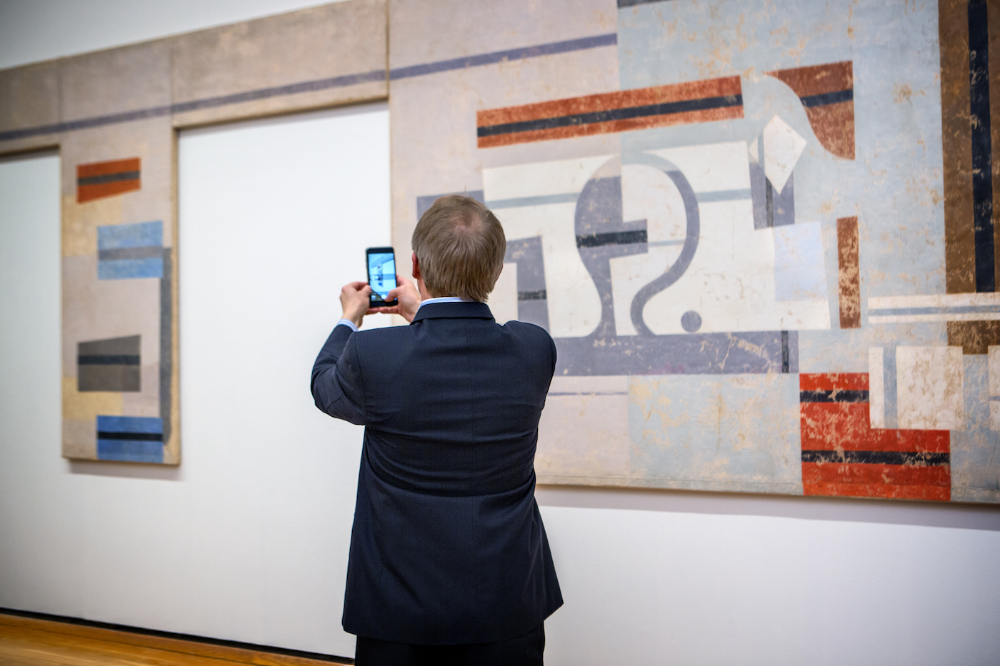 The 2016 Opening Reception for Spring Exhibitions at the Johnson Museum of Art (JMUS).