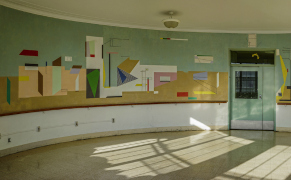 Post image for Rescuing Roosevelt Island's Rare, Abstract WPA Murals