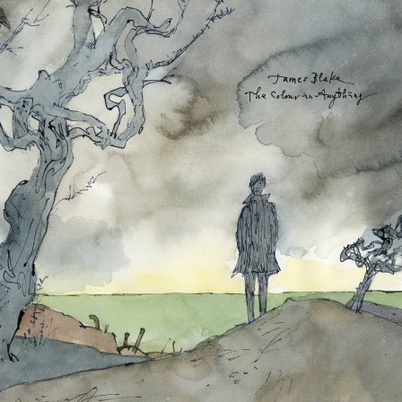 The cover of James Blake's new album, 'The Colour in Anything' (via Amazon)