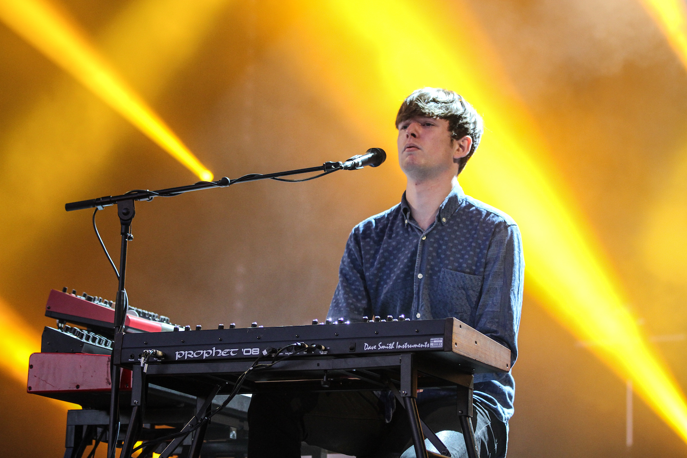 James Blake performing in 2013 (photo by Henry Laurisch/Wikimedia Commons)