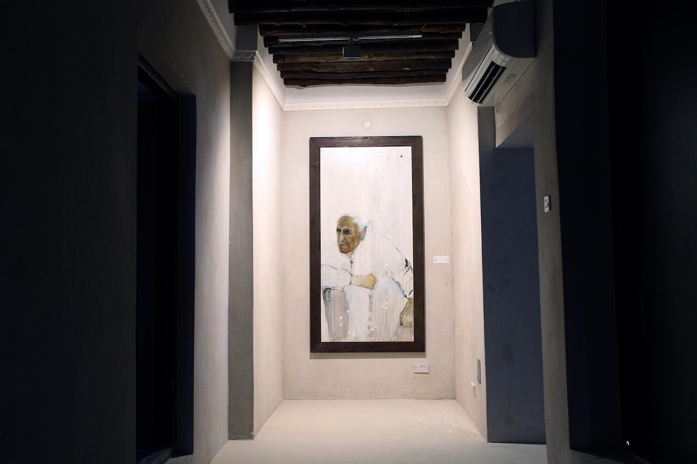 "Farideh Lashai, ""Mosaddegh"" (2008), Farjam Collection (image courtesy of Sharjah Art Foundation)"
