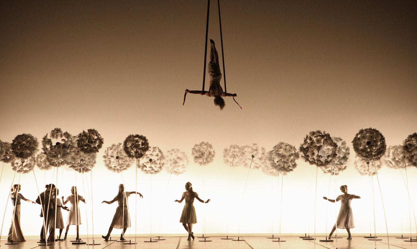 Scene from 'La Verità' (photo by Viviana Cangialosi)