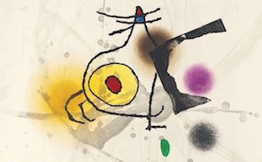 Post image for Joan Miró Works Auctioned by His Grandson to Benefit Refugees