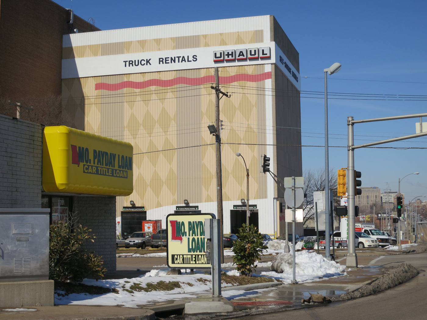 U-Haul in the former Magic Chef building in 2013 (photo by Paul Sableman/Flickr)