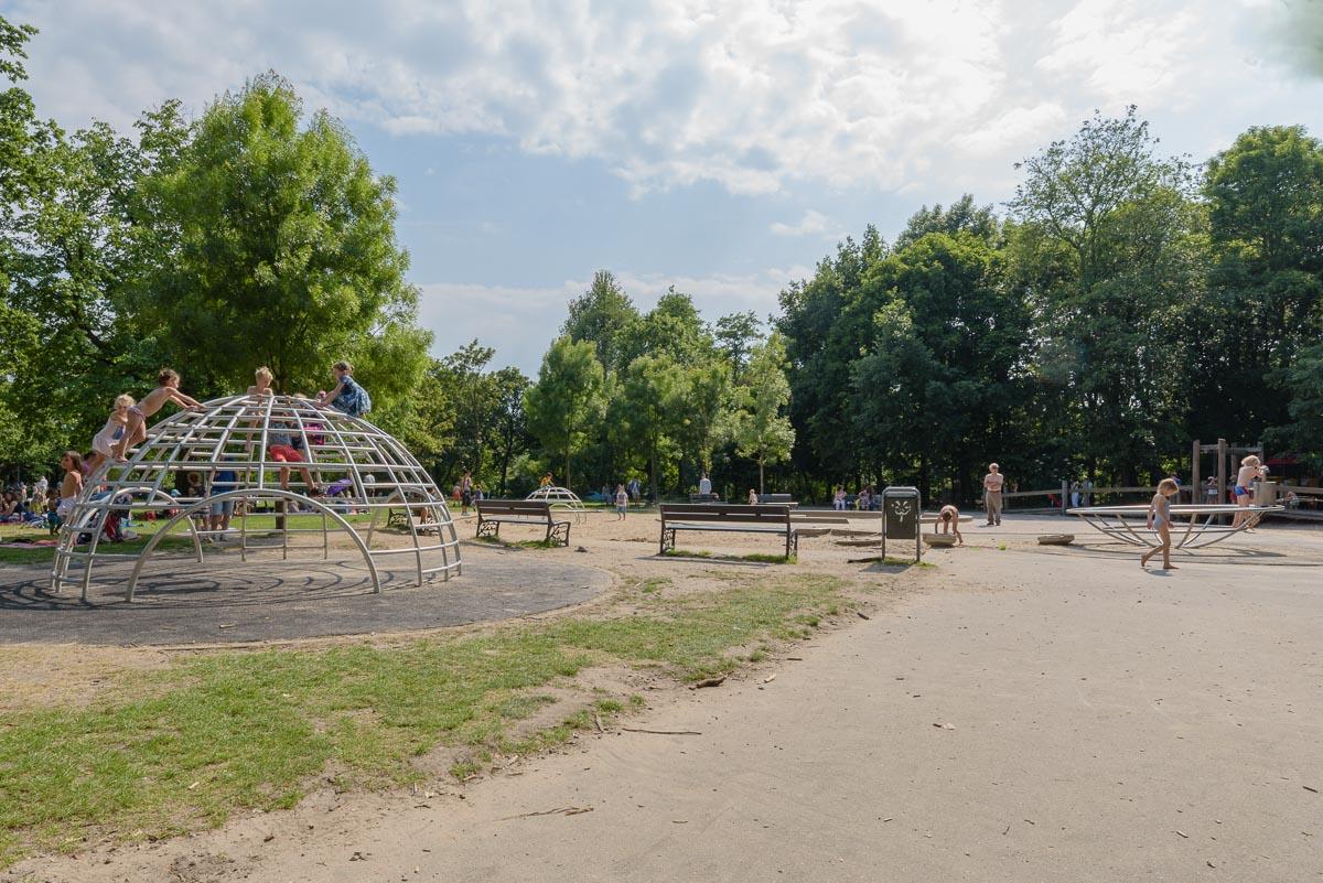 Playground designed by Aldo van Eyck in Amsterdam (photo by MartinStevens/Wikimedia)