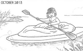 """Post image for """"Japan's View of Pussy Is Really Weird"""": Vagina Kayak Artist Releases Manga Memoir"""