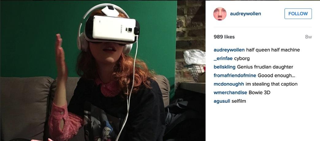 Audrey Wollen, instagram (via welcometolace.org)