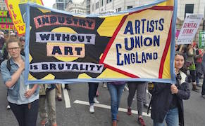 Post image for Artists in England Form a Union