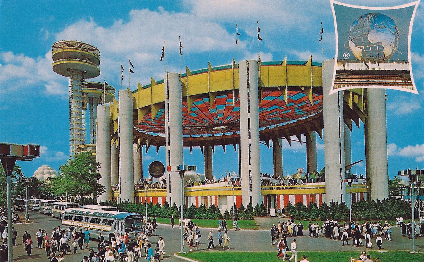 The New York State Pavilion at the 1964 World's Fair (via Joe Haupt/Flickr)