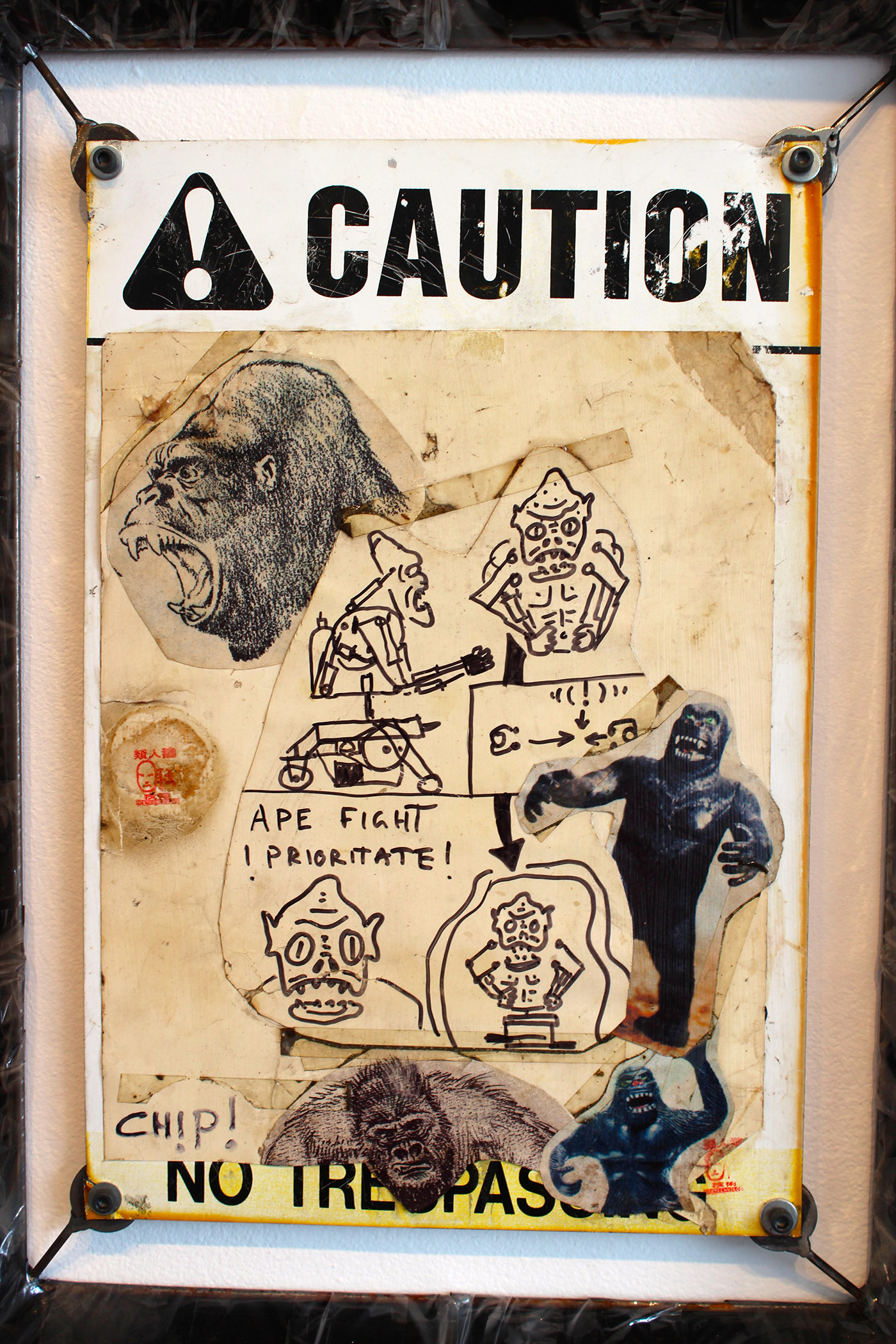 "Some of Apetechnology's visual reference material; ""There is no connection to 'Planet of the Apes,'"" said Campbell."