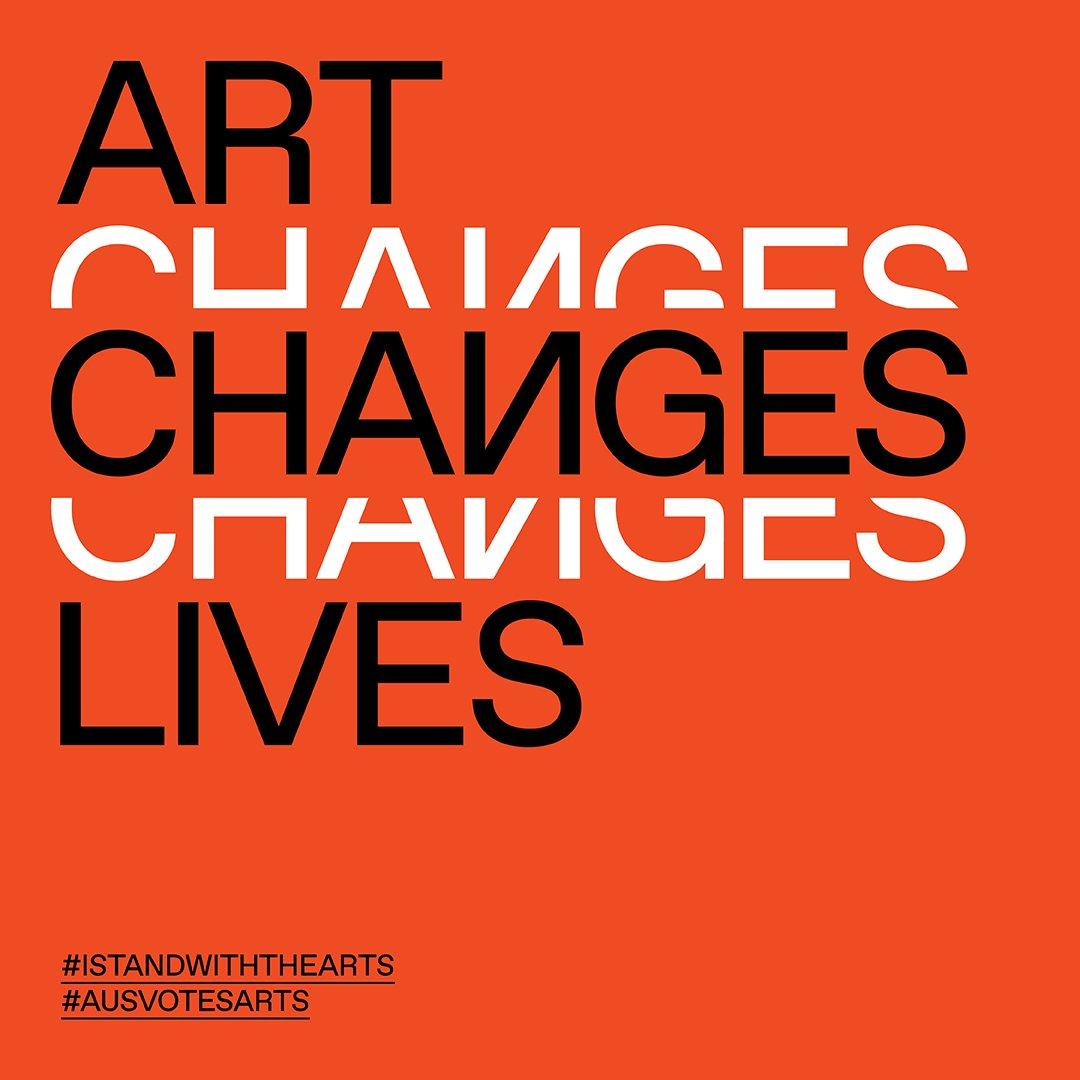Art Changes Lives instagram