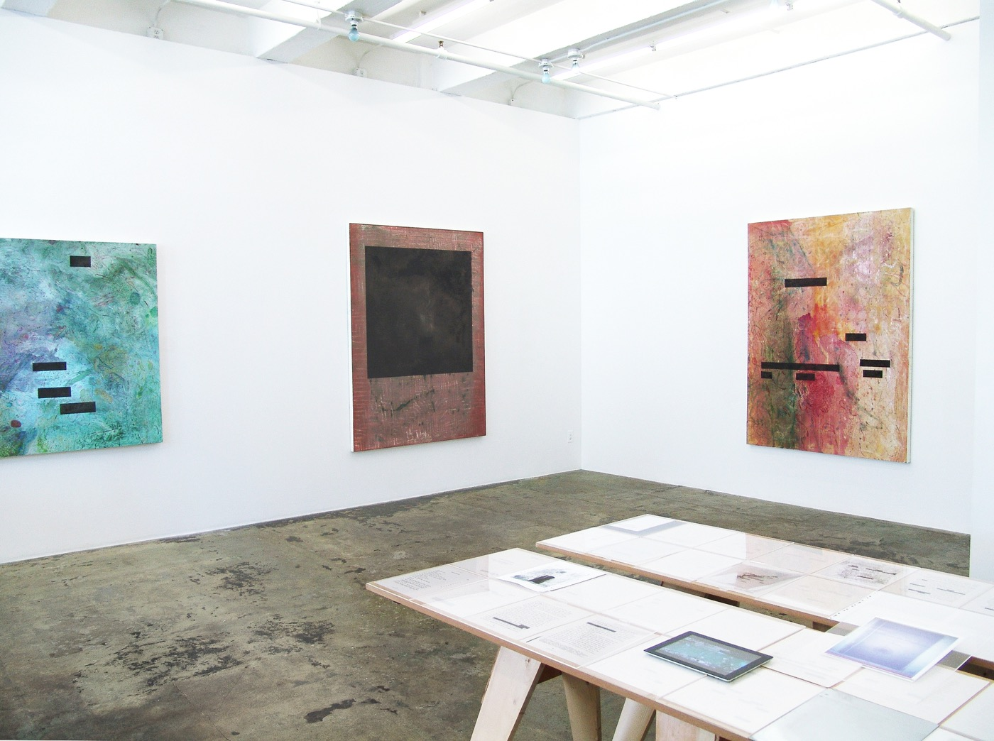 Installation view of Garden Coup