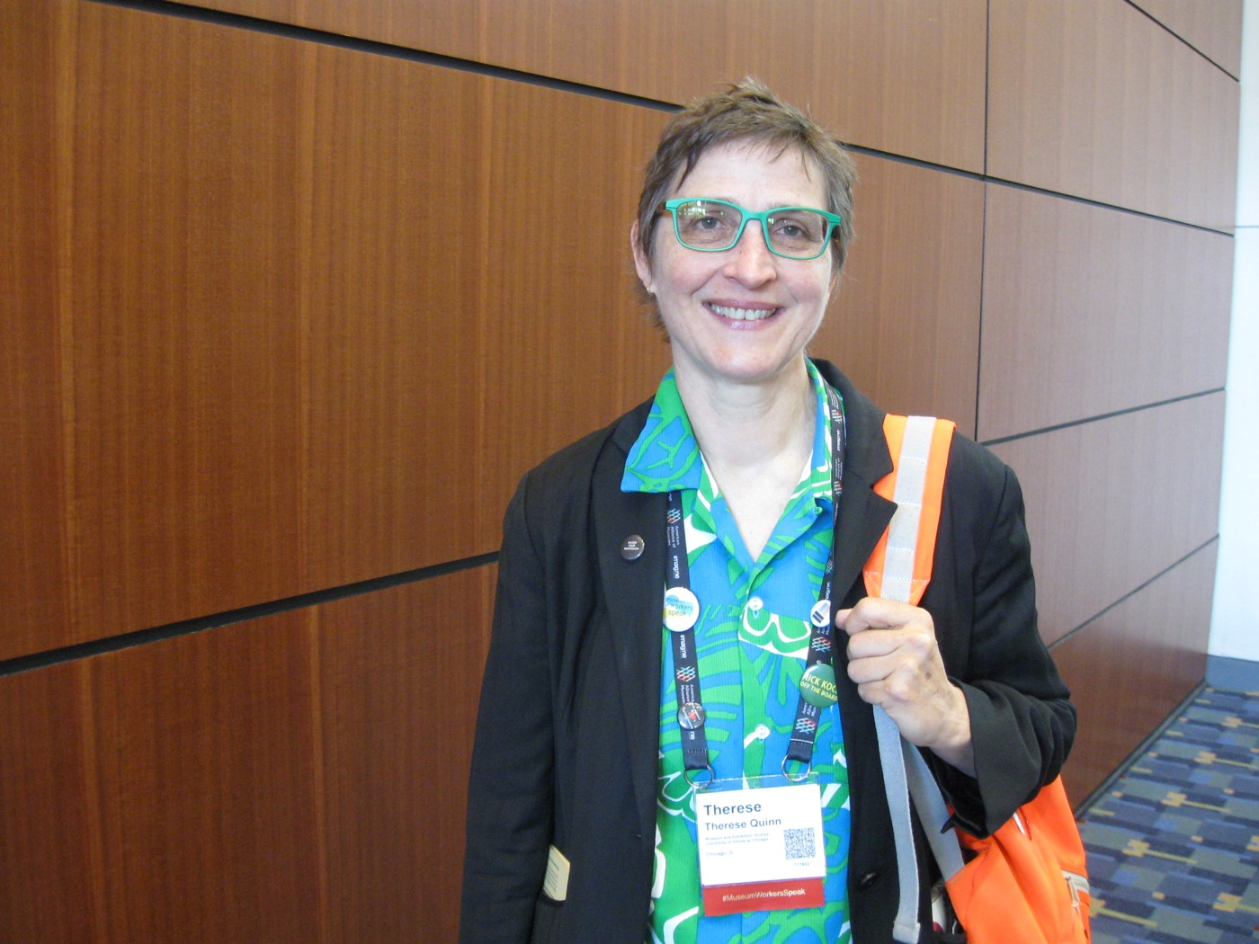Therese Quinn, associate professor of art history and director of the Museum and Exhibition Studies program At the University of Illinois