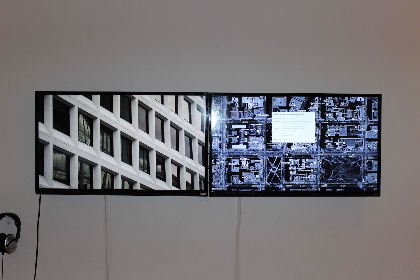 """Steve Rowell, """"Parallelograms"""" (2015) (photo courtesy SPACES)"""