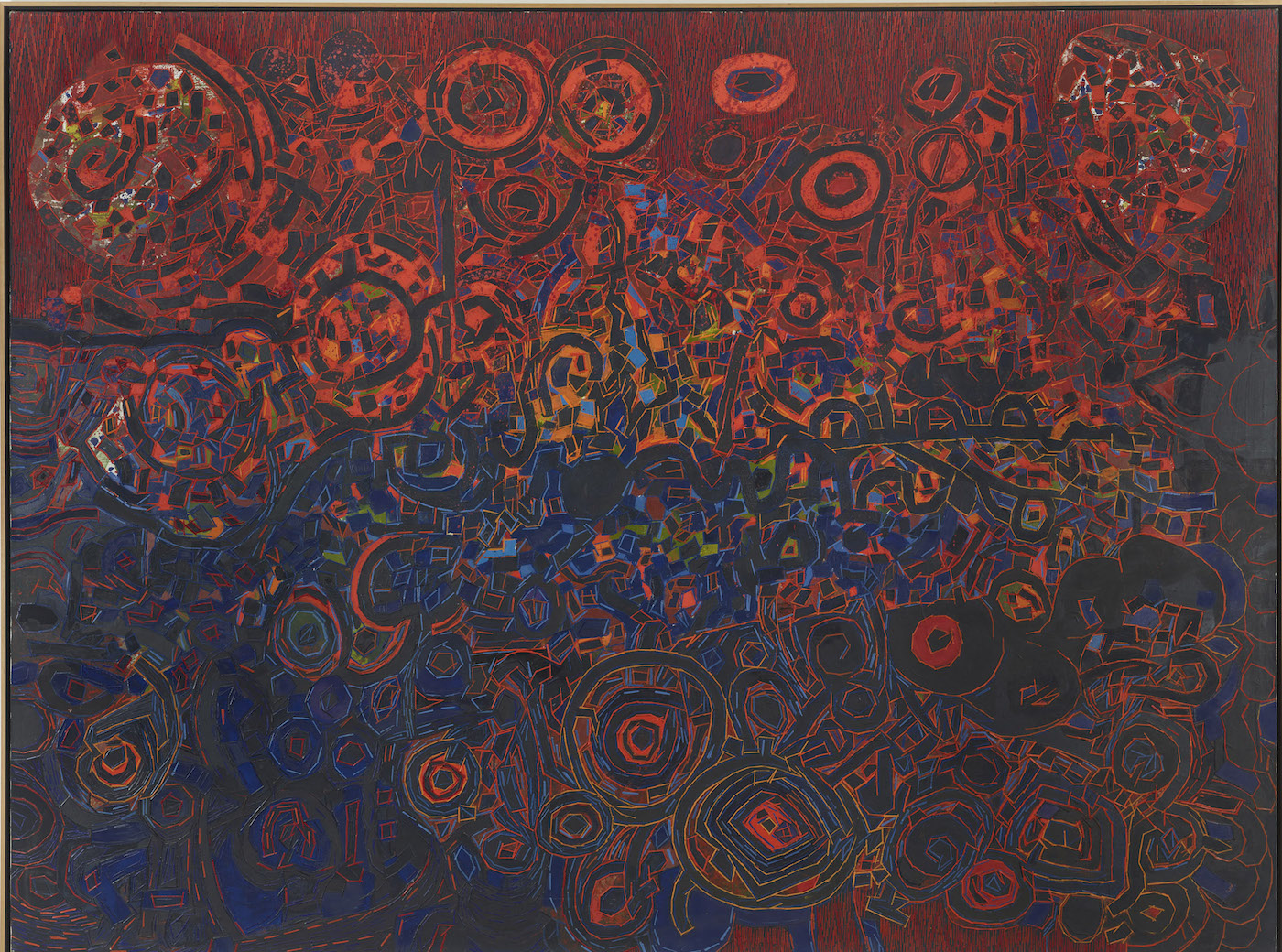 LEE MULLICAN- Untitled (1965)