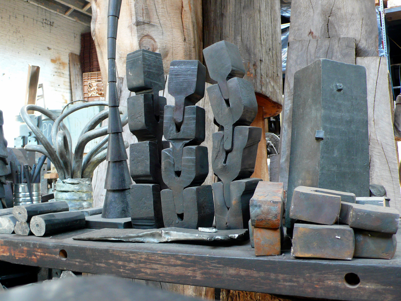 John Crawford S Heavy Metal Forging Meaning From Pure Form
