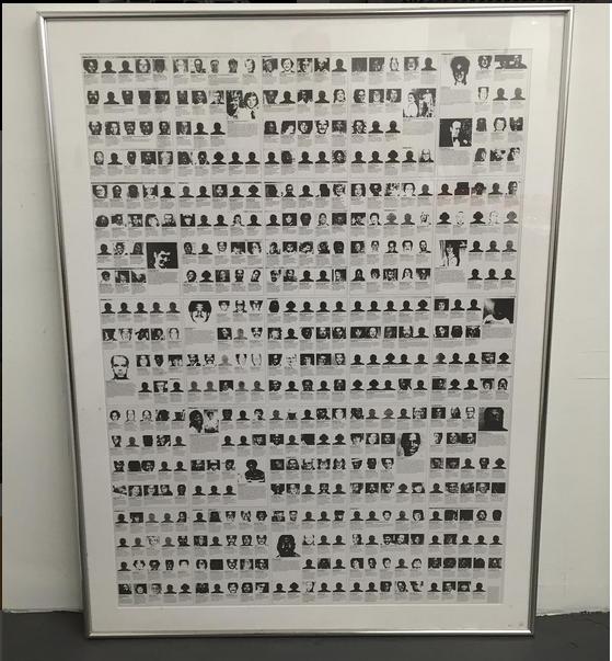 """Felix Gonzalez-Torres: """"Untitled (Death by Gun)."""" Photo by dm.art.design via Instagram"""