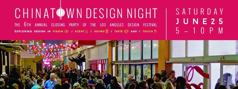 Chinatown Design Night (via facebook)