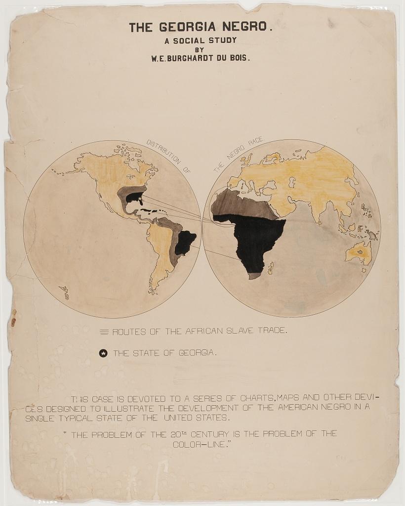W. E. B. Du Bois, The Georgia Negro: A Social Study