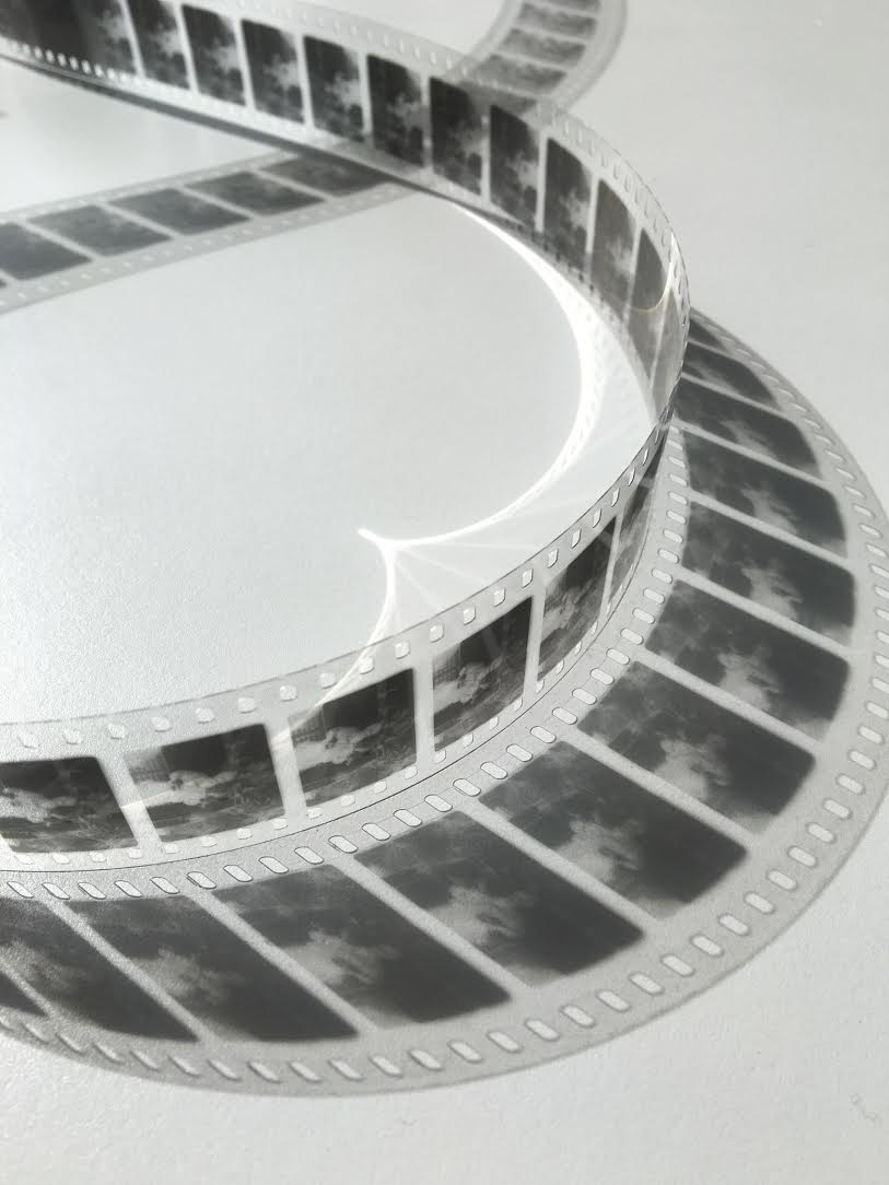The 35mm motion picture film created at the George Eastman Museum (courtesy the George Eastman Museum)