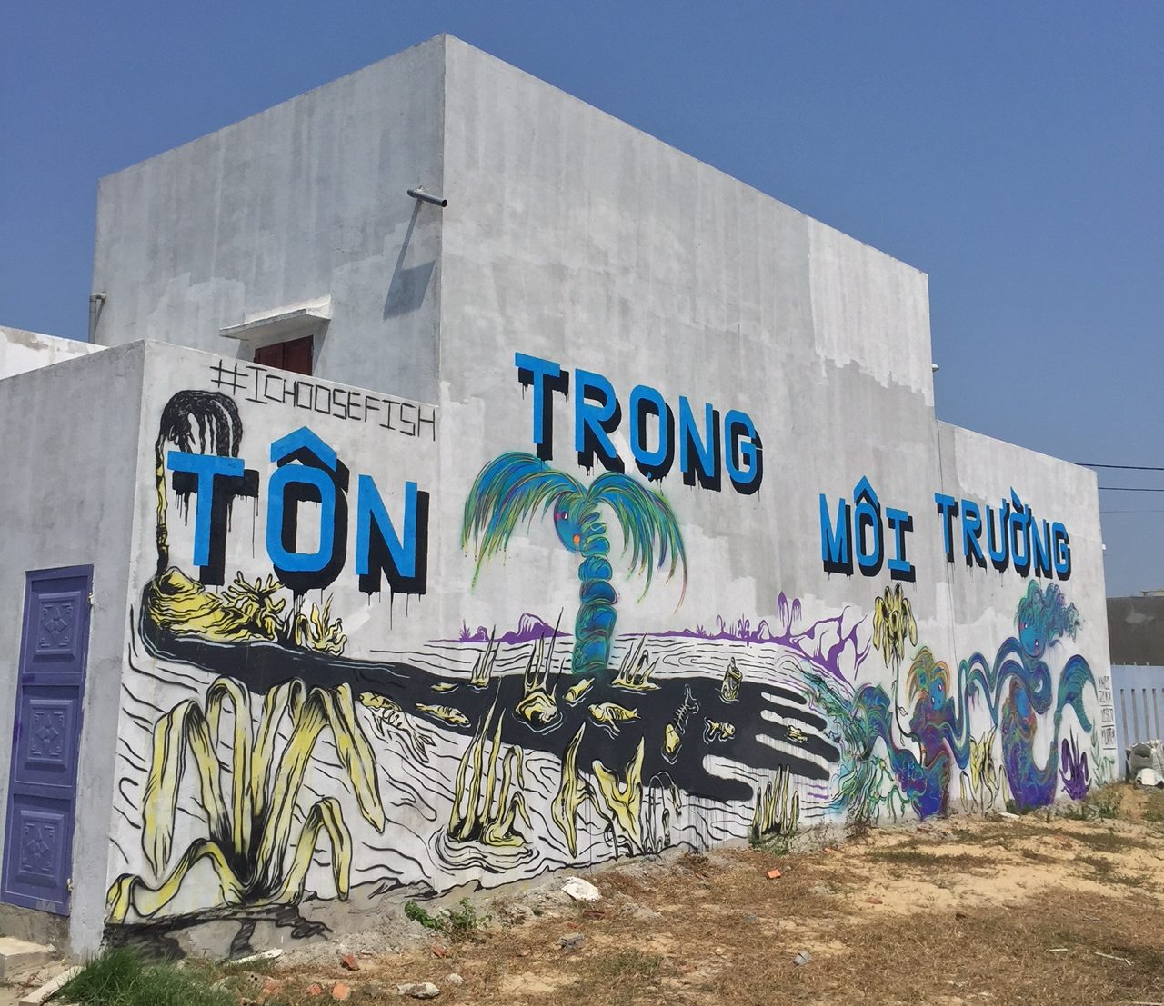 Image of the mural, courtesy the artist.