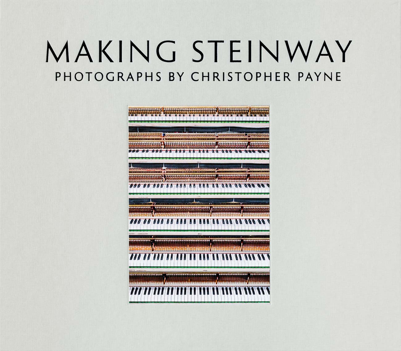 Cover of 'Making Steinway' (courtesy Christopher Payne)