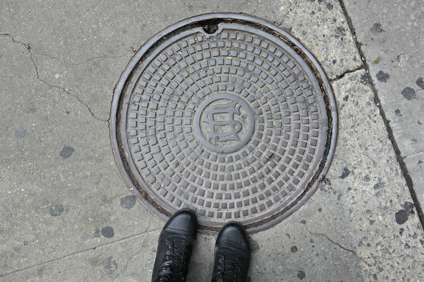 Old Electrical Wiring Manhole Worksheet And Diagram Oldelectricalwiringtypes Types The Well Trodden Art Of Cover In New York City Rh Hyperallergic Com Cloth