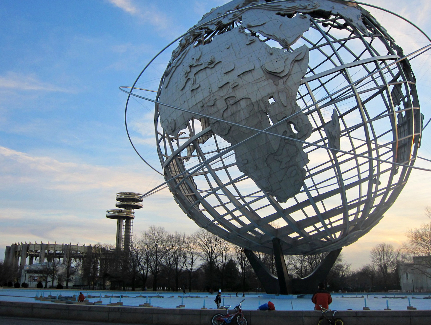 The New York State Pavilion and the Unisphere in Flushing Meadows–Corona Park