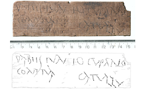 Post image for Ancient Roman Waxed Writing Tablets Unearthed in Central London