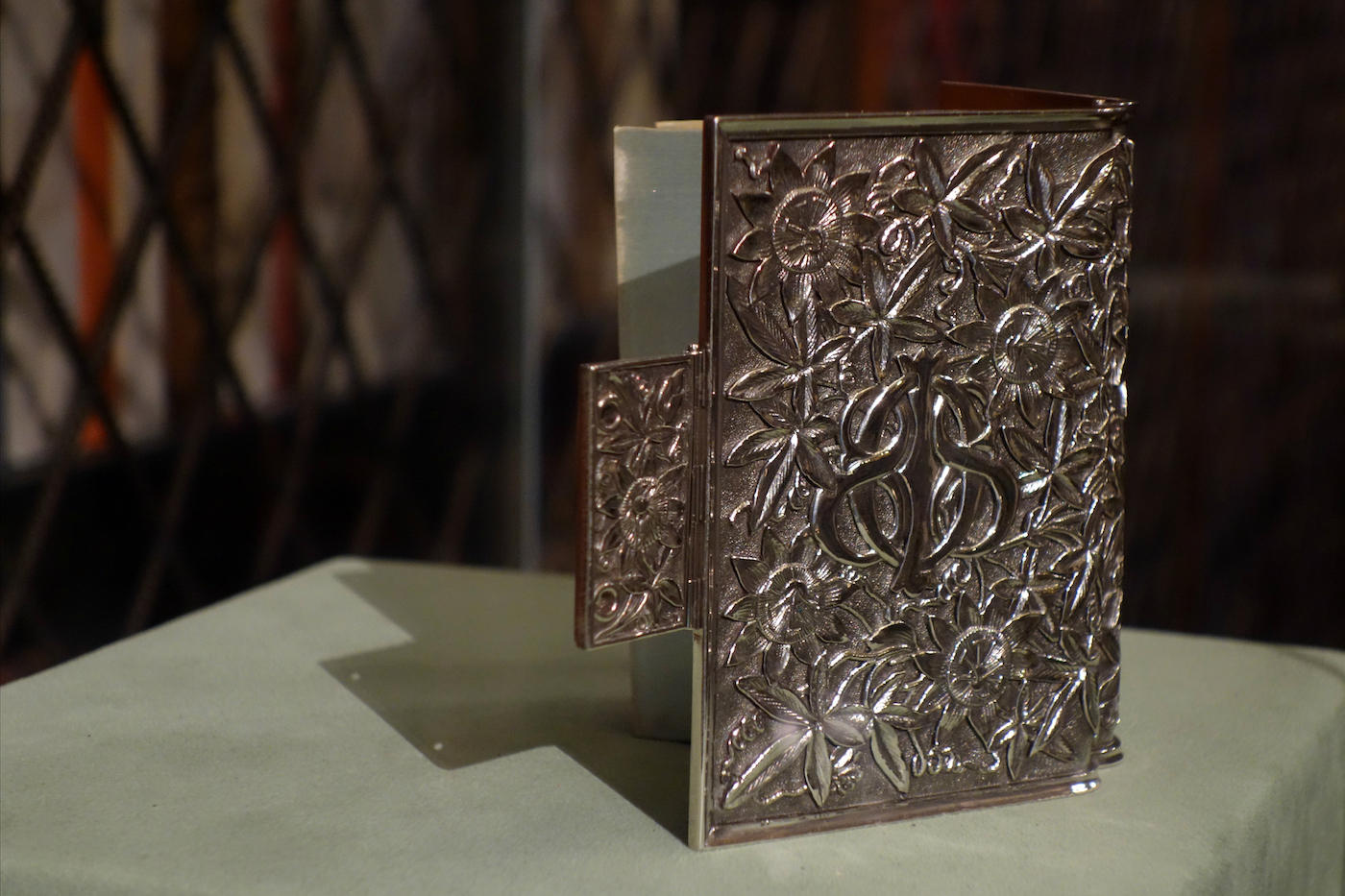 Silver bindings, Morgan Library