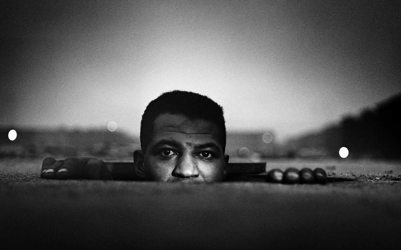 "Gordon Parks, ""Emerging Man, Harlem, New York"" (1952) (photo by Gordon Parks, © and courtesy the Gordon Parks Foundation)"