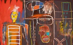 Basquiat, Air Power (1984)