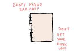 Post image for How I Learned to Stop Fearing Art
