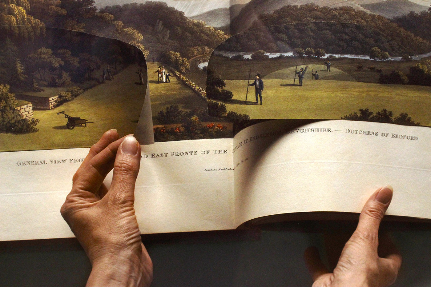 The Open Page (2009), Detail and installation view