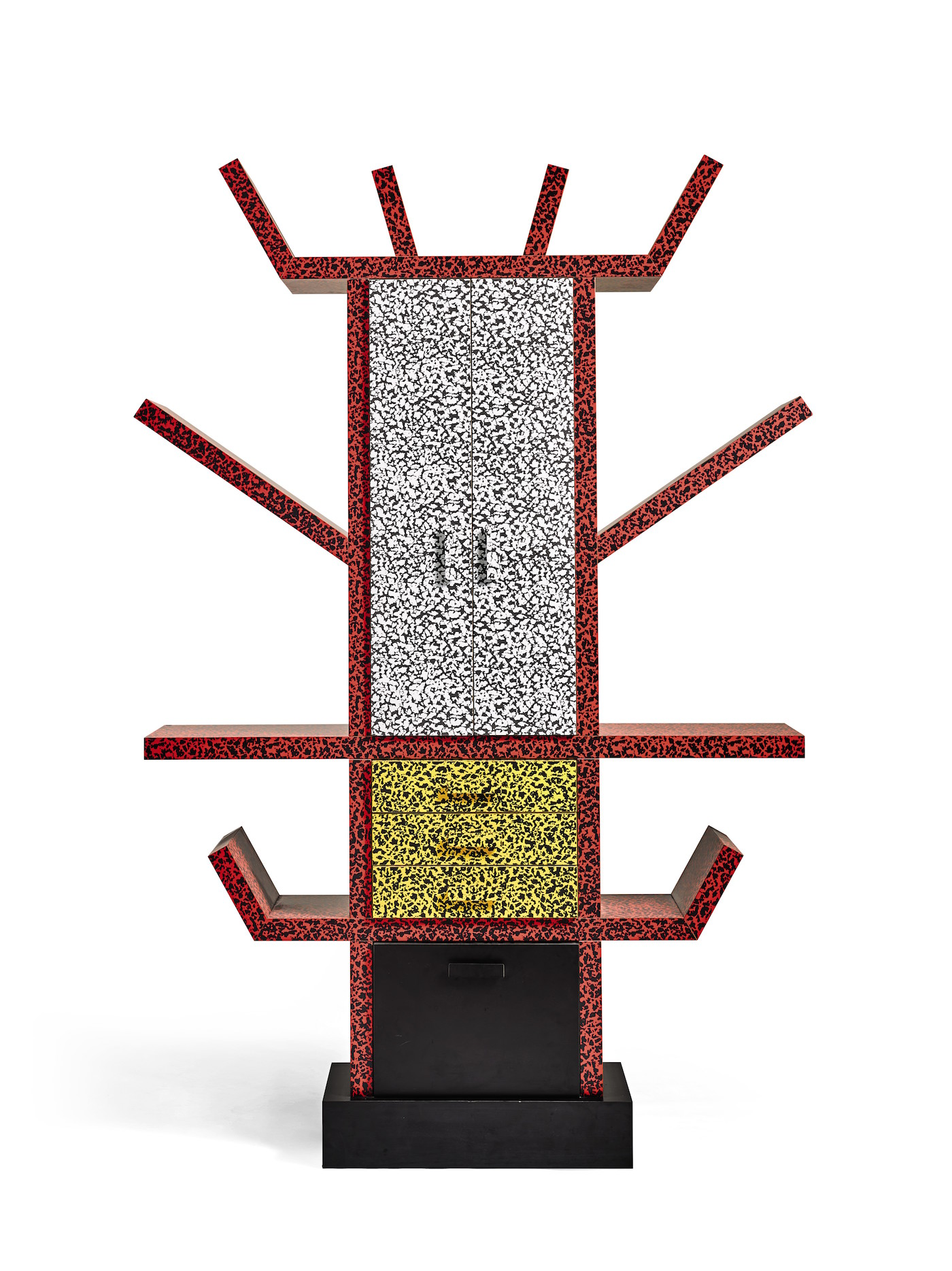 """Ettore Sottsass, """"'Casablanca' Sideboard"""" (1981), selling for £4,000-6,000 ($5,300-8000 USD) (click to enlarge)"""