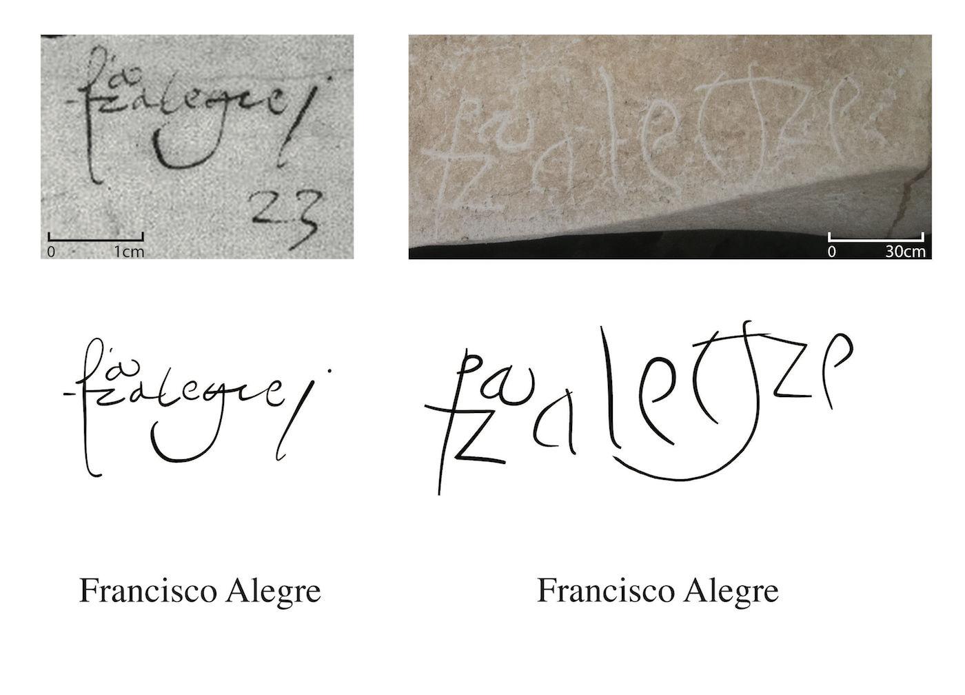 Francisco Alegre with scales