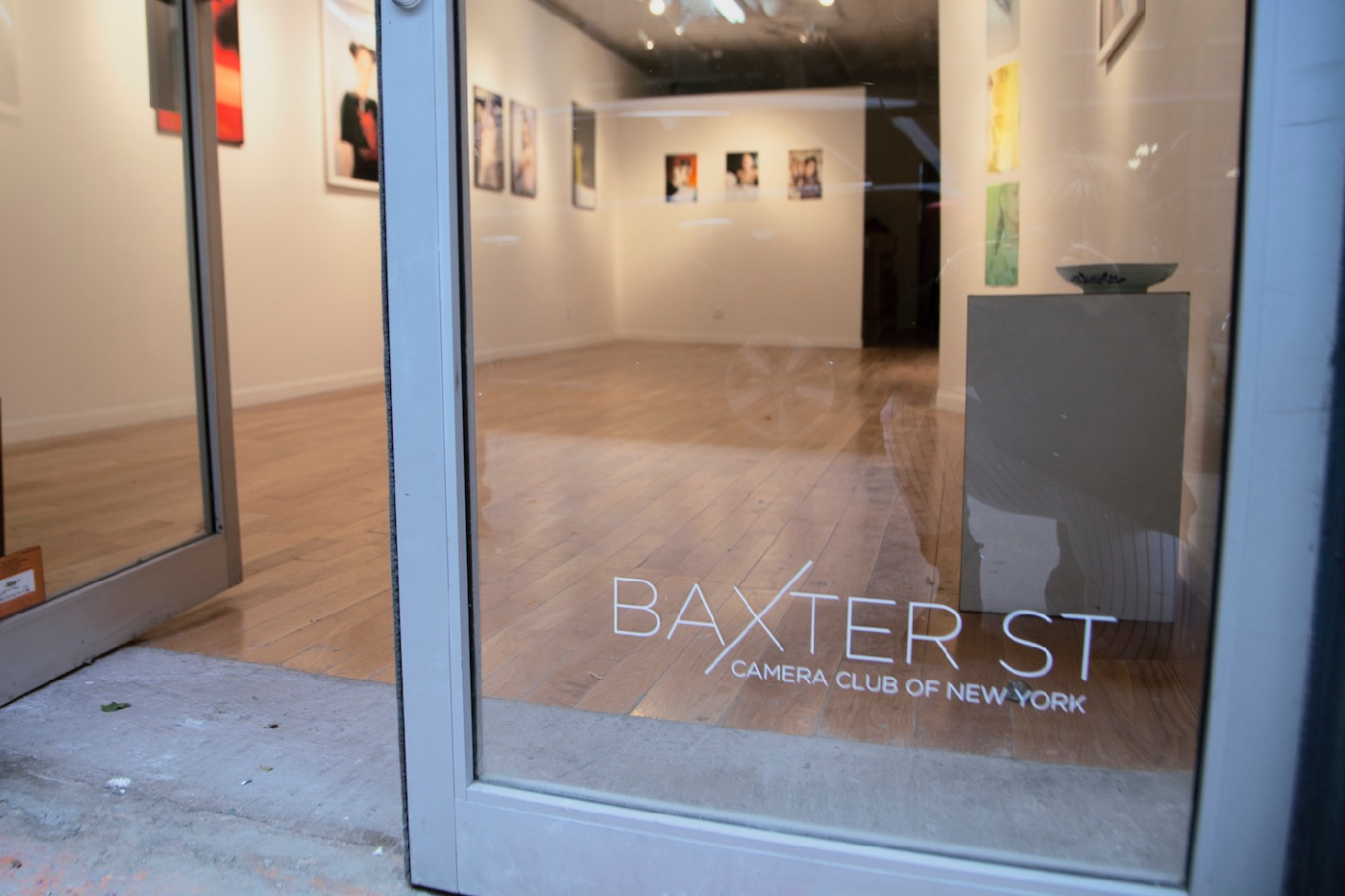 The front door of Baxter Street Camera Club of New York (All photos courtesy of Baxter St CCNY)